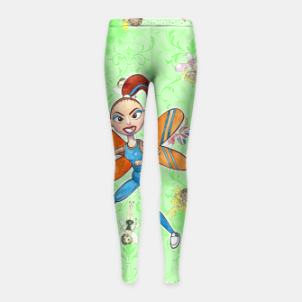 Miniaturka Sporty Spice Girl's Leggings, Live Heroes