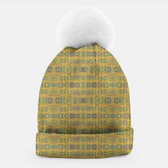 Thumbnail image of Golden Weave Beanie, Live Heroes