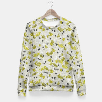 Thumbnail image of Cockatoos by Veronique de Jong Fitted Waist Sweater, Live Heroes