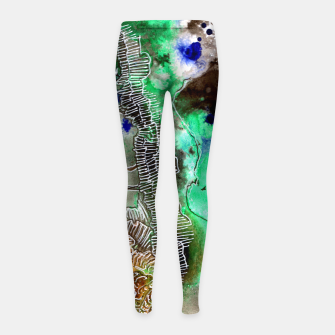 Thumbnail image of Different Girl's Leggings, Live Heroes