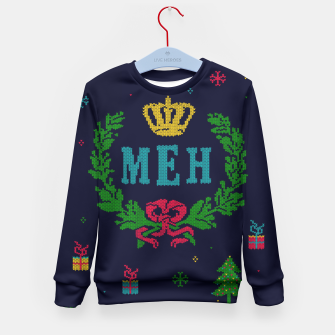 Miniature de image de Le Royal December Meh Kid's Sweater, Live Heroes