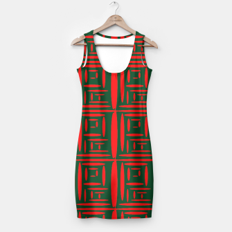 Thumbnail image of (Green) Chinese Print  Simple Dress, Live Heroes