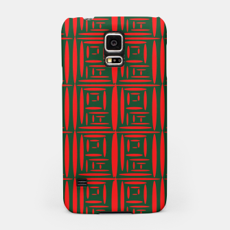 Thumbnail image of (Green) Chinese Print  Samsung Case, Live Heroes