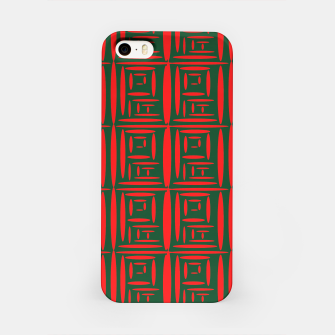 Thumbnail image of (Green) Chinese Print  iPhone Case, Live Heroes