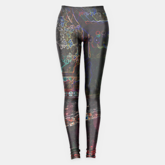 Thumbnail image of Trippy Pikachu Leggings, Live Heroes