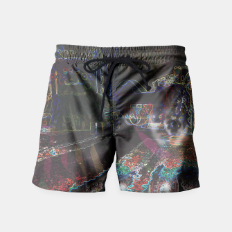 Thumbnail image of Trippy Pikachu Swim Shorts, Live Heroes