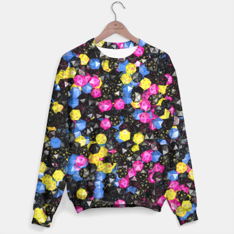 Thumbnail image of D20 CMYK Sweater, Live Heroes