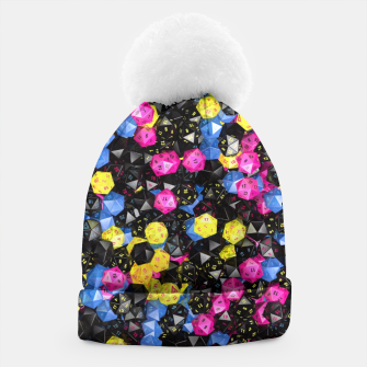 Thumbnail image of D20 CMYK Beanie, Live Heroes