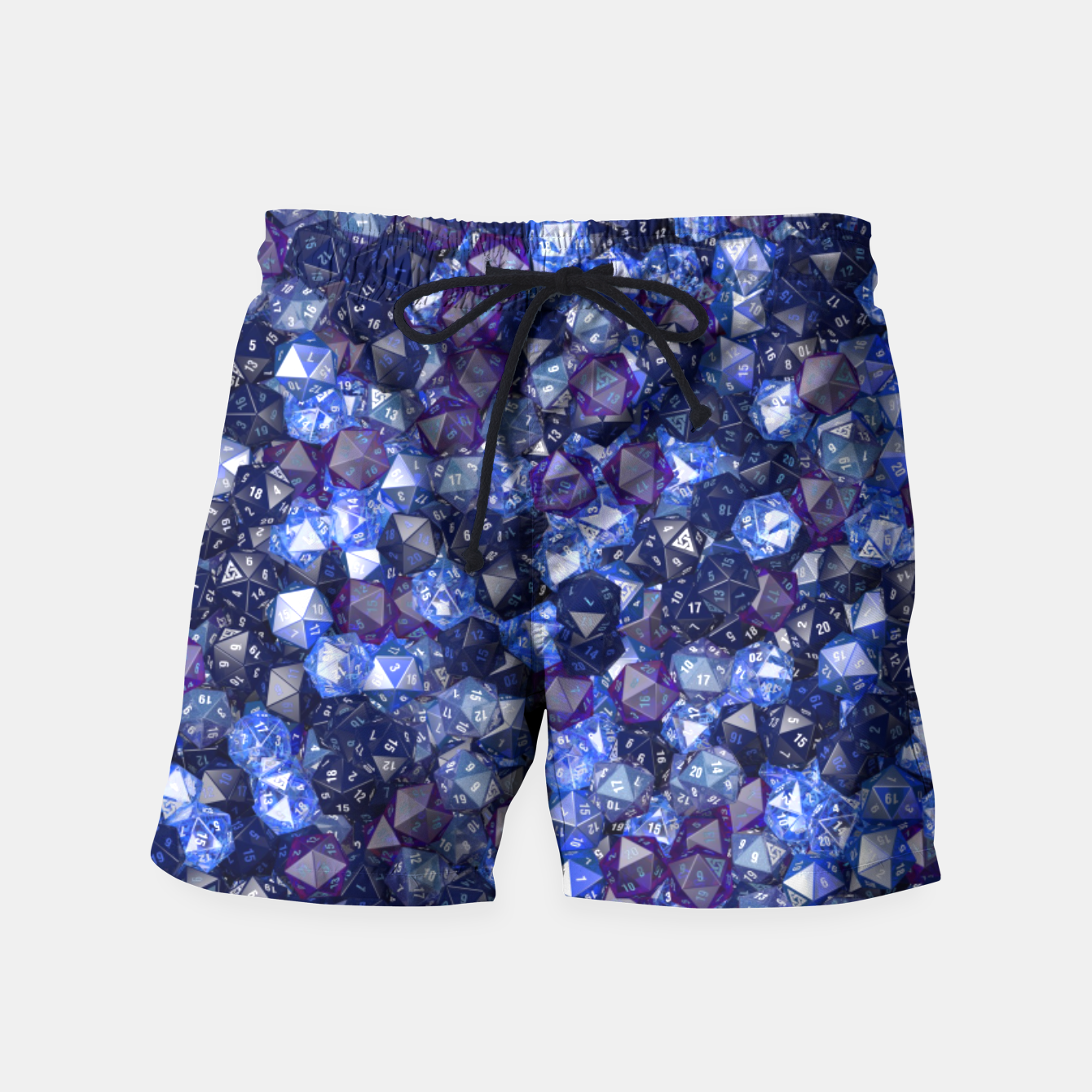Image of D20 AZURE Swim Shorts - Live Heroes