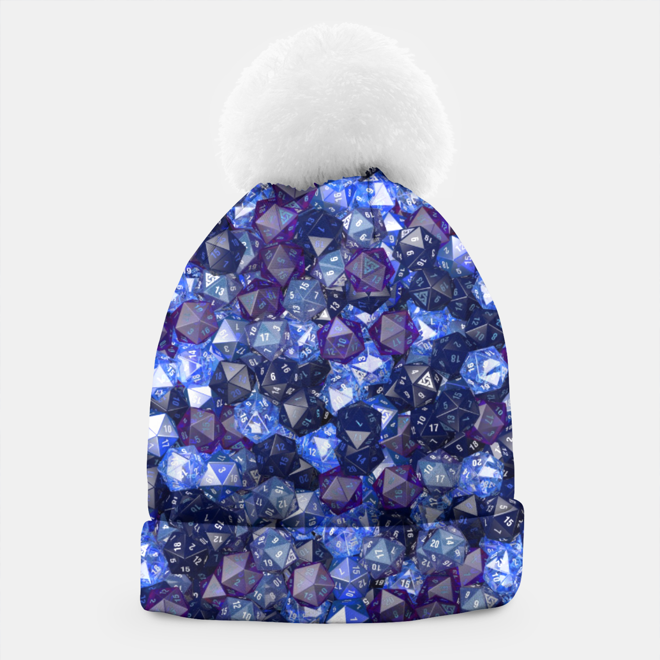 Image of D20 AZURE Beanie - Live Heroes