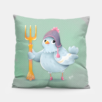 Thumbnail image of Little Pigeon Pillow, Live Heroes