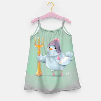 Thumbnail image of Little Pigeon Girl's Dress, Live Heroes