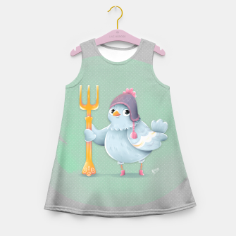 Thumbnail image of Little Pigeon Girl's Summer Dress, Live Heroes