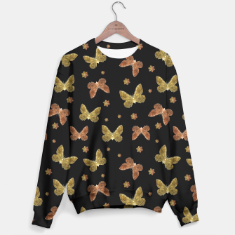 Miniatur Insects Motif Pattern Sweater, Live Heroes