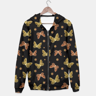 Thumbnail image of Insects Motif Pattern Hoodie, Live Heroes