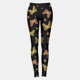 Miniatur Insects Motif Pattern Leggings, Live Heroes