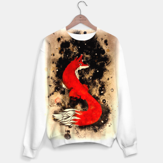 Thumbnail image of Dream of a fox Sweater, Live Heroes