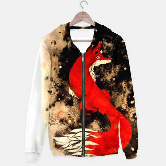 Thumbnail image of Dream of a fox Hoodie, Live Heroes