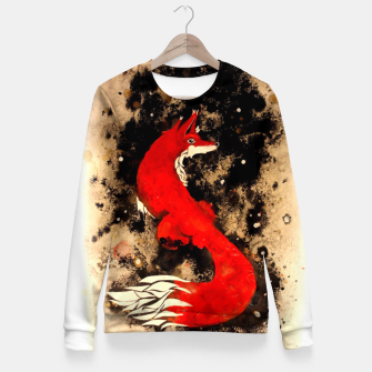 Thumbnail image of Dream of a fox Fitted Waist Sweater, Live Heroes