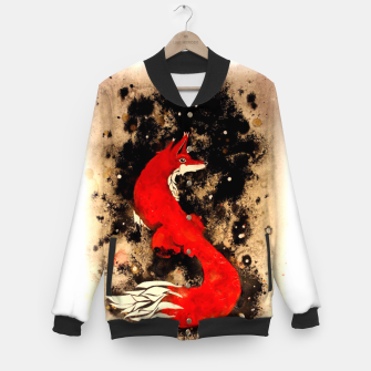 Imagen en miniatura de Dream of a fox Baseball Jacket, Live Heroes