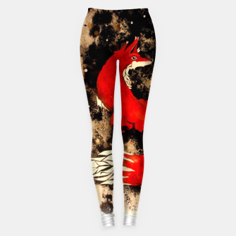 Thumbnail image of Dream of a fox Leggings, Live Heroes