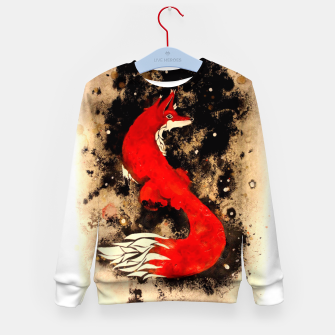 Thumbnail image of Dream of a fox Kid's Sweater, Live Heroes