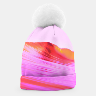 Thumbnail image of Pink 波 Beanie, Live Heroes