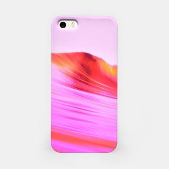 Thumbnail image of Pink 波 iPhone Case, Live Heroes