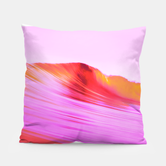 Thumbnail image of Pink 波 Pillow, Live Heroes