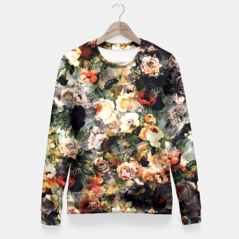 Floral Pattern RPE120 Fitted Waist Sweater thumbnail image