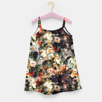 Thumbnail image of Floral Pattern RPE120 Girl's Dress, Live Heroes