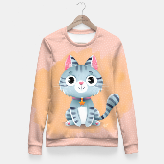 Thumbnail image of Kitty Fitted Waist Sweater, Live Heroes