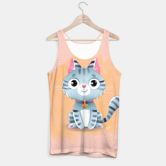 Thumbnail image of Kitty Tank Top, Live Heroes