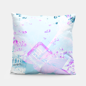 Thumbnail image of Hibiscus Fiji Ice Cubes Pillow, Live Heroes