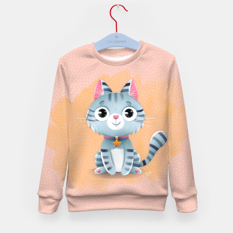 Thumbnail image of Kitty Kid's Sweater, Live Heroes