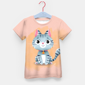 Thumbnail image of Kitty Kid's T-shirt, Live Heroes