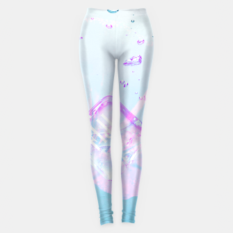 Thumbnail image of Hibiscus Fiji Ice Cubes Leggings, Live Heroes