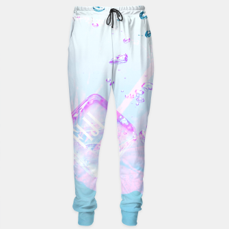 Thumbnail image of Hibiscus Fiji Ice Cubes Sweatpants, Live Heroes
