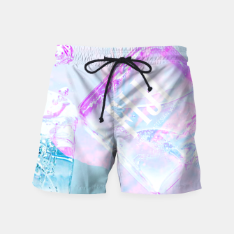 Thumbnail image of Hibiscus Fiji Ice Cubes Swim Shorts, Live Heroes