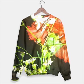 Thumbnail image of floral love Sweater, Live Heroes