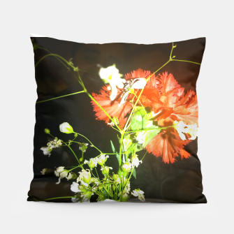Thumbnail image of floral love Pillow, Live Heroes