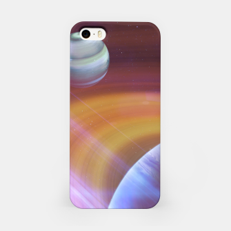 Outer space iPhone Case thumbnail image