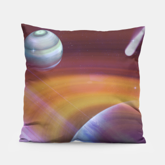 Thumbnail image of Outer space Pillow, Live Heroes
