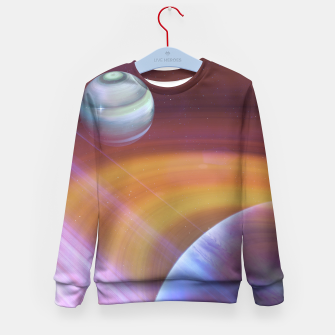Outer space Kid's Sweater thumbnail image