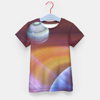 Outer space Kid's T-shirt thumbnail image
