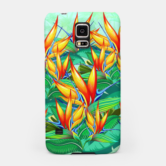 Thumbnail image of Bird of Paradise Flower Exotic Nature Samsung Case, Live Heroes