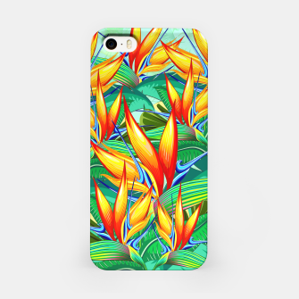 Thumbnail image of Bird of Paradise Flower Exotic Nature iPhone Case, Live Heroes