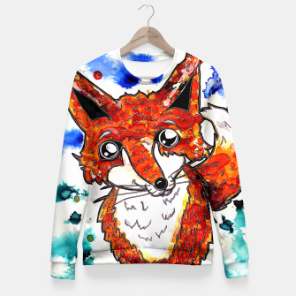 Thumbnail image of Cuterrr Fox Fitted Waist Sweater, Live Heroes