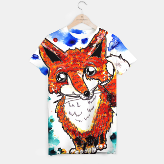 Thumbnail image of Cuterrr Fox T-shirt, Live Heroes