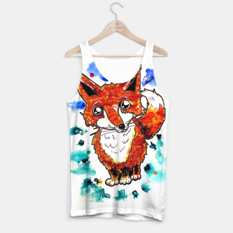 Thumbnail image of Cuterrr Fox Tank Top, Live Heroes